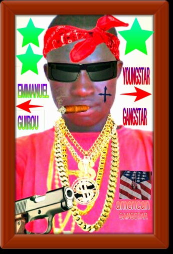 I'AM GANGSTAR I LOVE THE LIFE OF GANG BECAUSE I'AM STRONG BITCH